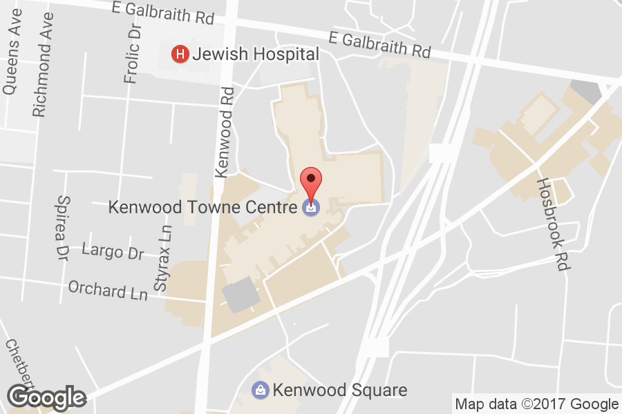 Map of Kenwood Towne Centre - Click to view in Google Maps